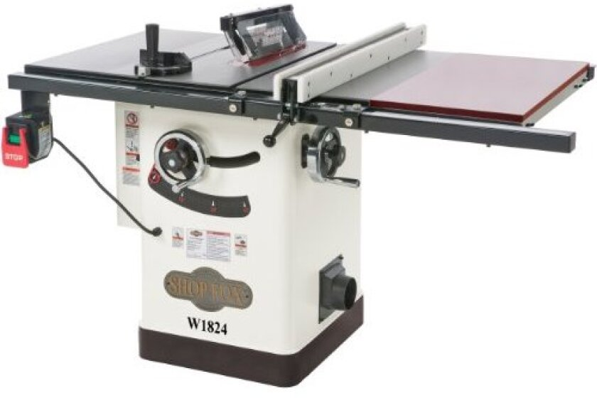 Shop Fox Hybrid Table Saw with Extension Table