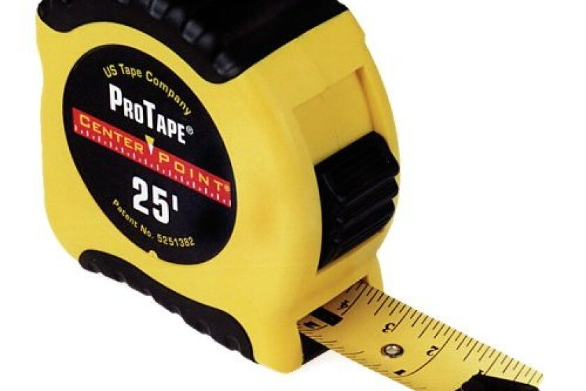 US Tape 50035 1-Inch x 25-Foot CenterPoint ProTape