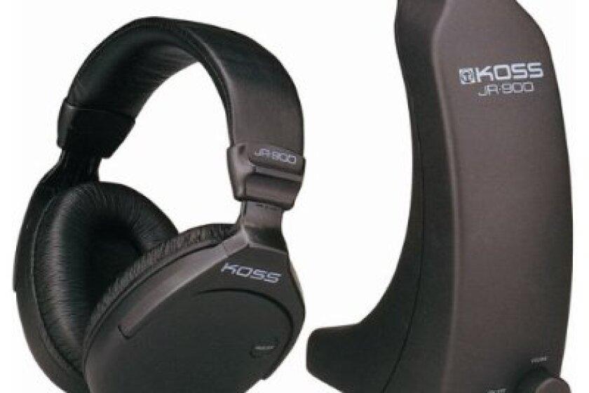 Koss JR900 Cordless Stereo Headphones