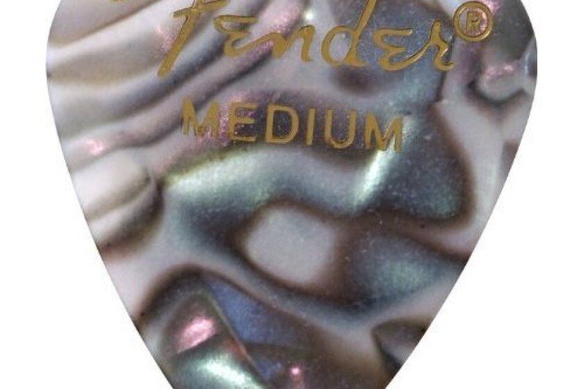 Fender 351 Premium Celluloid Guitar Picks