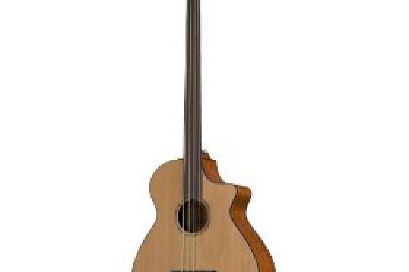 Breedlove Atlas Series Solo BJ350/CM4 Fretless Acoustic-Electric Bass Guitar