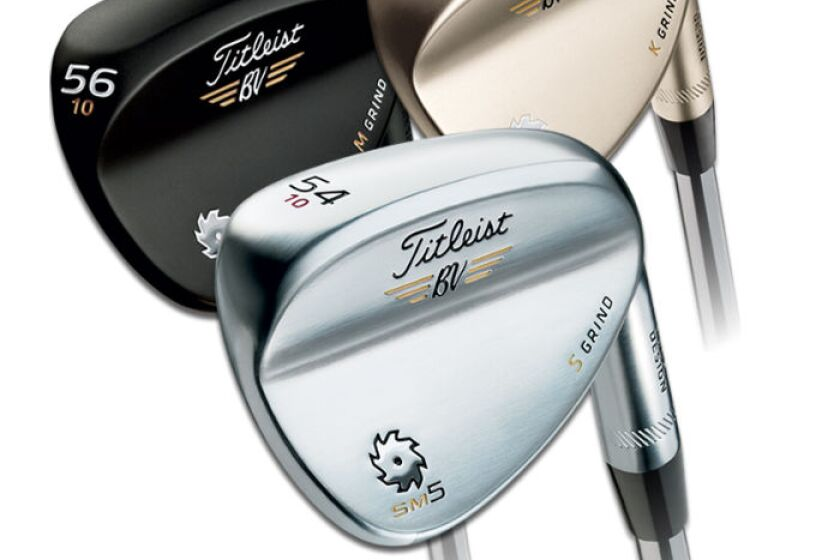 Titelist Vokey Design Spin Milled 5 Lob Wedge