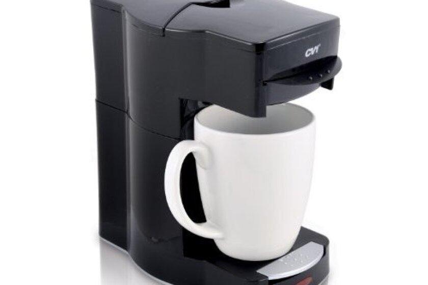 Caf Valet Black Single Serve Coffee Brewer