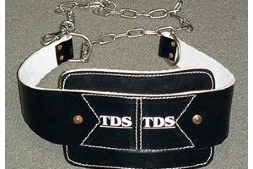 TDS Leather Dip Belt