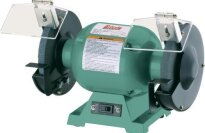 "Grizzly G9717 6"" Bench Grinder with 1/2"" Arbor"