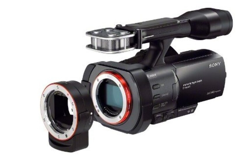 Sony NEXVG900 Full Frame Interchangeable Lens Camcorder Video Camera