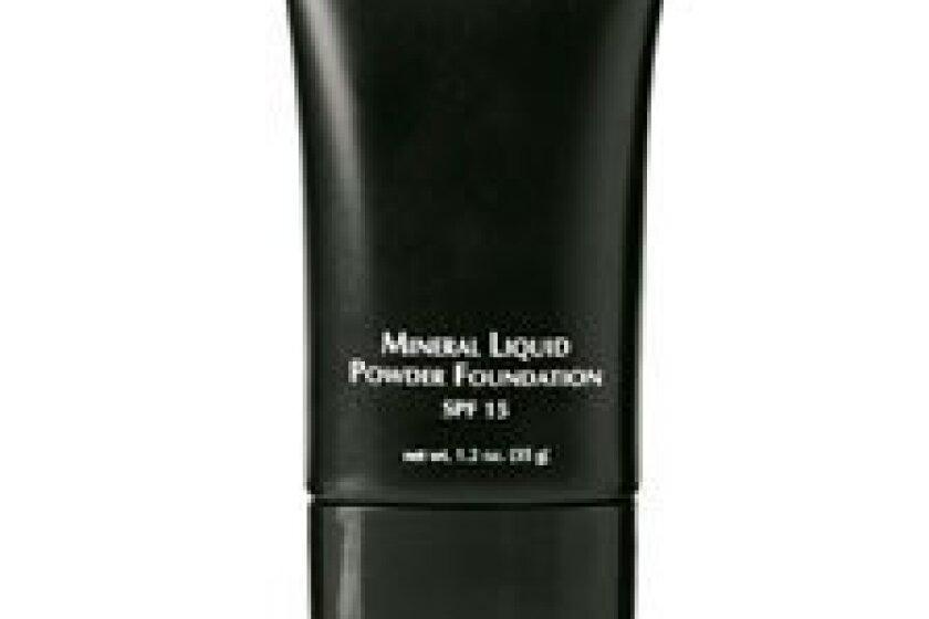 Beauty Basics Mineral Liquid Powder Foundation Almond