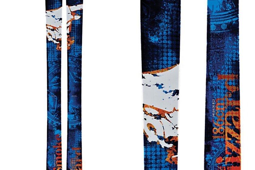 暴雪甘斯莫克滑雪板2013