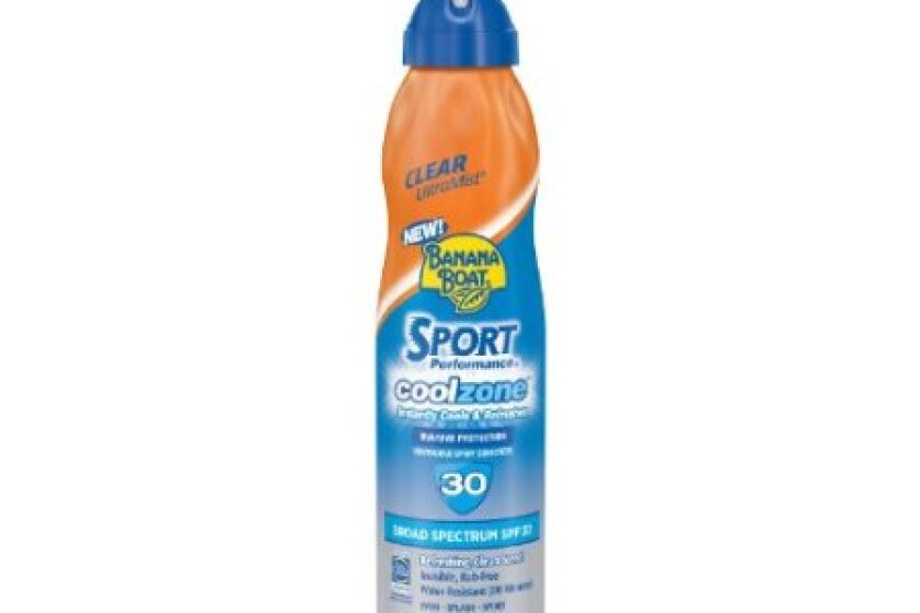 Banana Boat Sport Cool Zone Sunscreen Continuous Spray