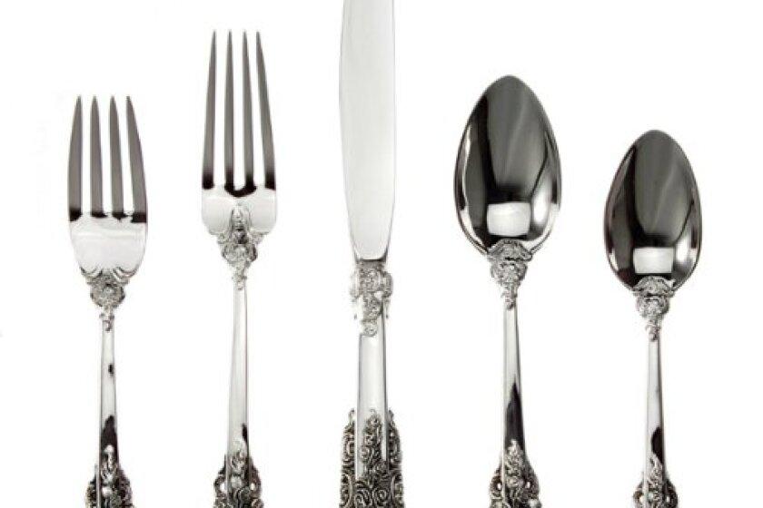 "Godinger 92-Piece ""20th-Century Baroque"" Silver-Plated Flatware"