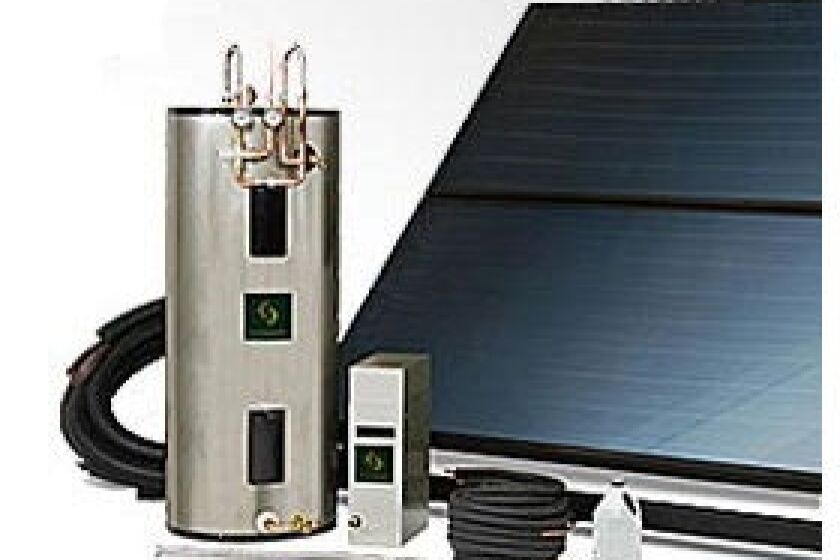 Sunward Solar Hot Water System