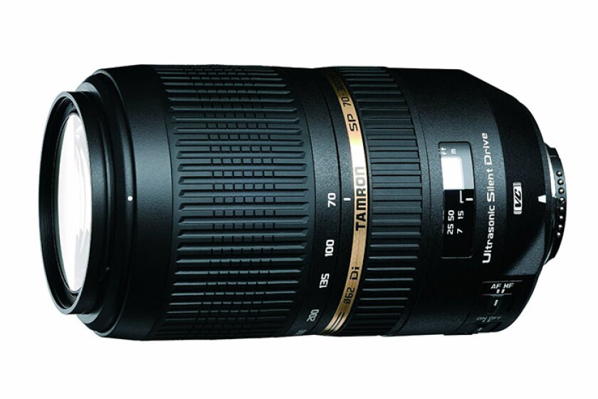 Tamron SP 70-300mm f/4-5.6 Di VC USD Telephoto Zoom Lens for Nikon