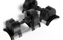 StairMaster Pair of TwistLock Adjustable Dumbbells