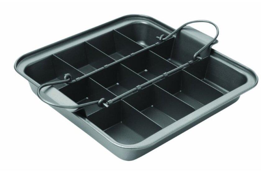 Chicago Metallic Slice Solutions Brownie Pan