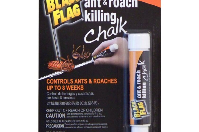 Black Flag Roach Killing Chalk