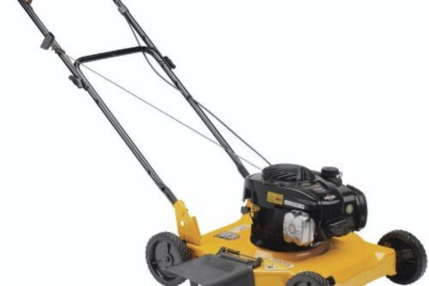 "Poulan Pro PR450N20S Side Discharge Push Lawn Mower, 20"""