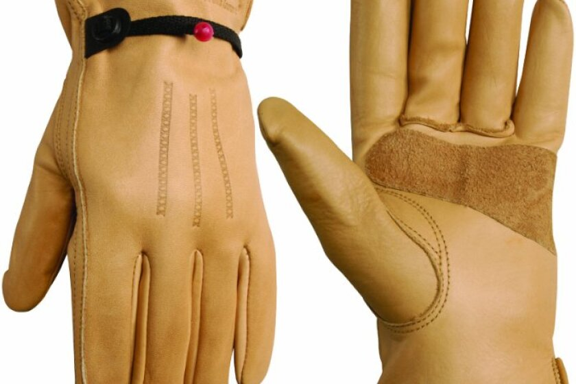Wells Lamont Work Gloves with Timber Grain Cowhide