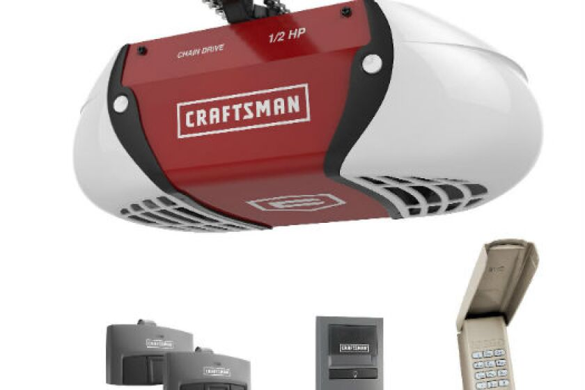 Craftsman 54985, 1/2 HP Chain Drive Garage Door Opener