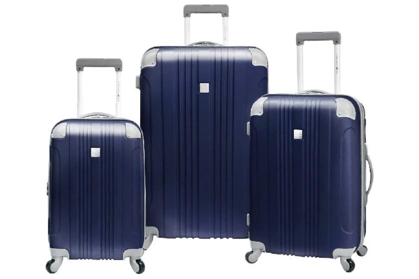 best Travelers Choice Caribbean Joe Malibu 3-Piece Luggage Set