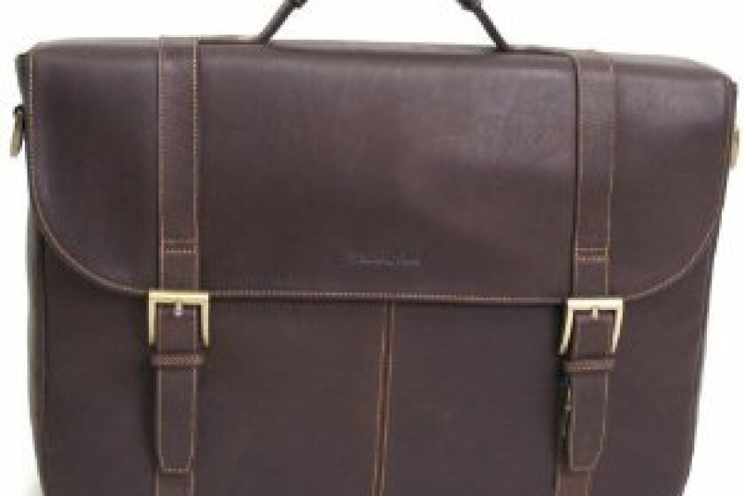 Samsonite Flapover Leather Portfolio