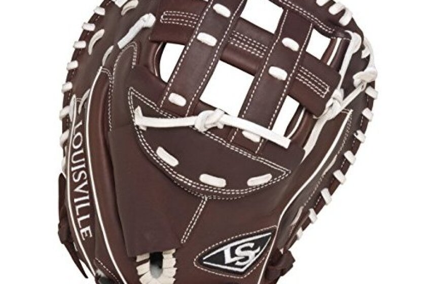 Louisville Slugger FGXPBN5 Xeno Pro Brown Catchers Glove
