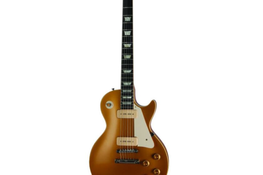 Gibson Guitar Gibson Custom VOS 1956 Les Paul Goldtop Electric Guitar (Antique Gold)