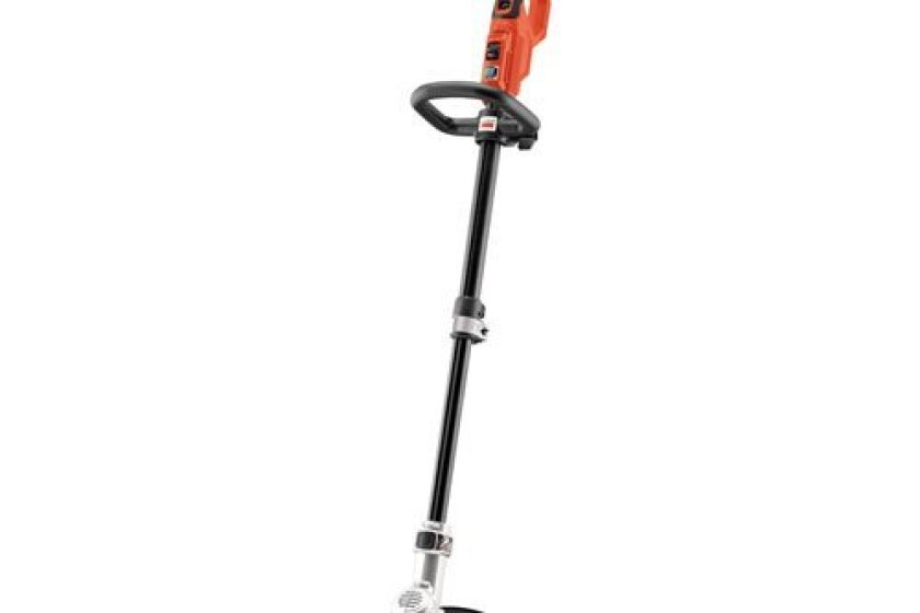 "Black & Decker LST400 12"" Lithium High Performance Trimmer and Edger"