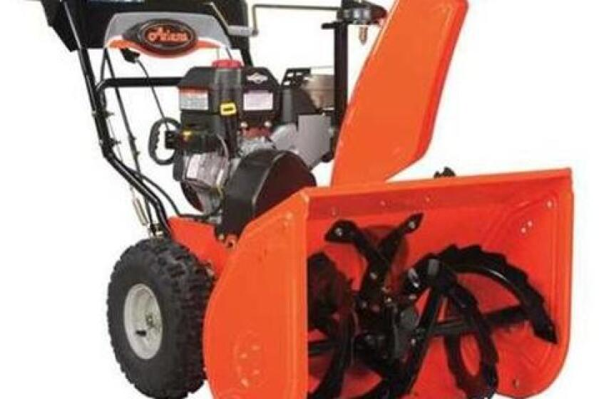 """Ariens Hydro Pro Track 28"""" 420cc Two-Stage Snow Blower - 926056"""