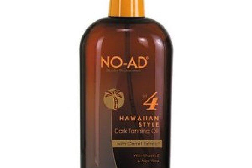 NO-AD Hawaiian Style Dark Tanning Oil SPF 4