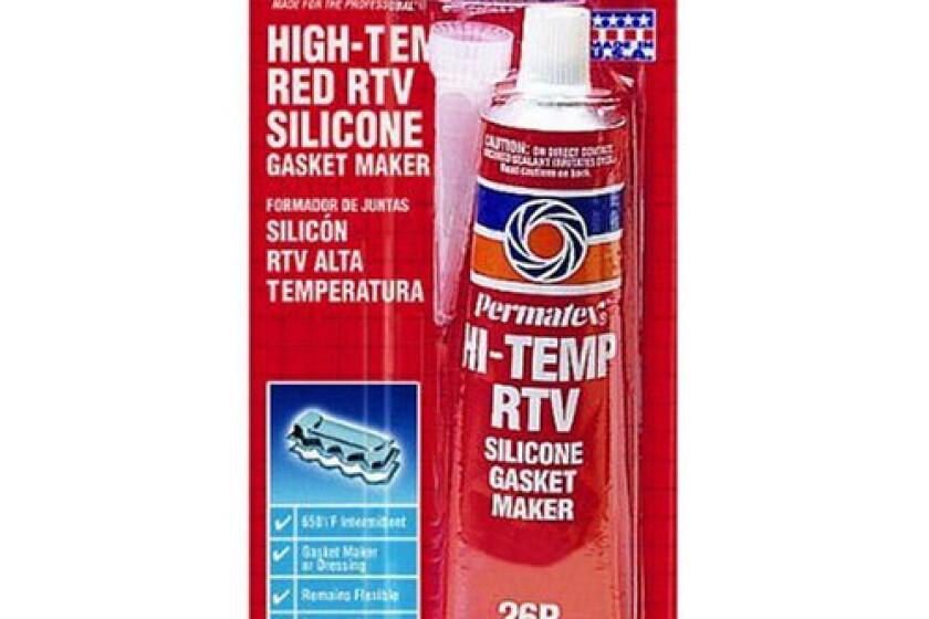 Permatex 81160 High-Temp Red RTV Silicone Gasket