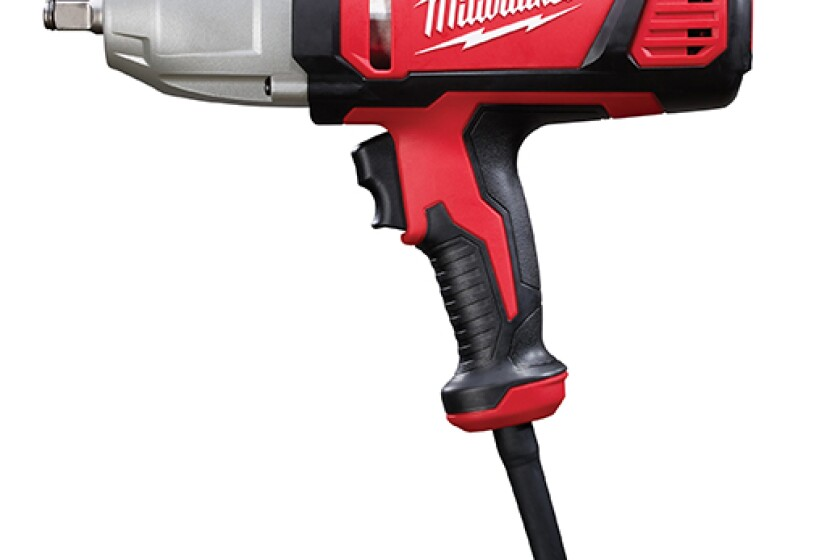 "Milwaukee 1/2"" Electric Impact Wrench with Rocker Switch"