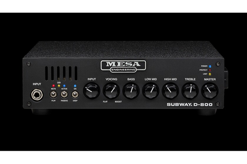 Mesa/Boogie Subway D-800 Bass Amp Head