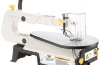 "Shop Fox W1713 16"" Variable Speed Scroll Saw"