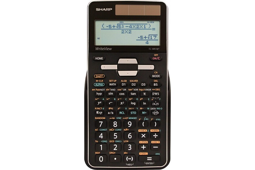 Sharp EL-W516T Scientific Calculator