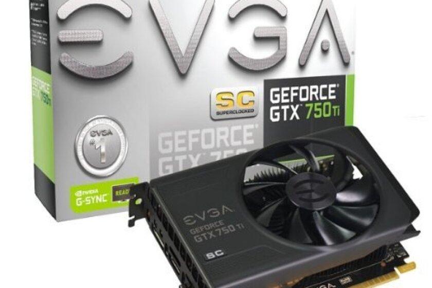 EVGA GeForce GTX 750Ti SC 2GB GDDR5 Graphics Card