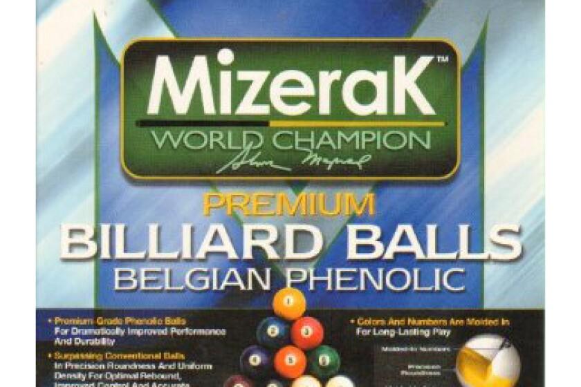 Mizerak Premium Pool Balls