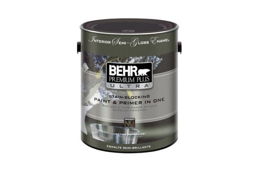 best Behr Premium Plus Ultra Interior Semi-Gloss Enamel