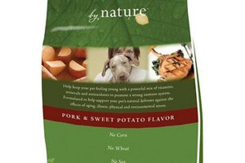 By Nature Pork & Sweet Potato Flavor Dry Dog Food