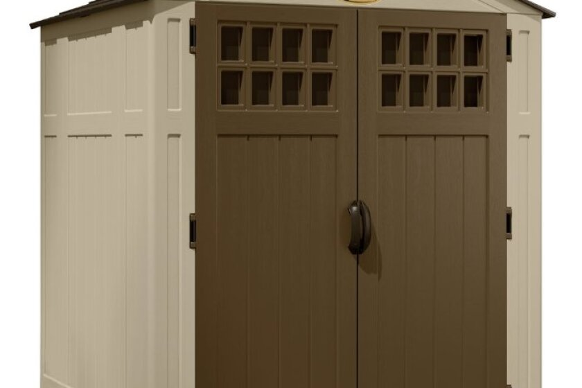 Suncast BMS6550 6 ft x 5 ft 5 in Blow Molded Storage Shed