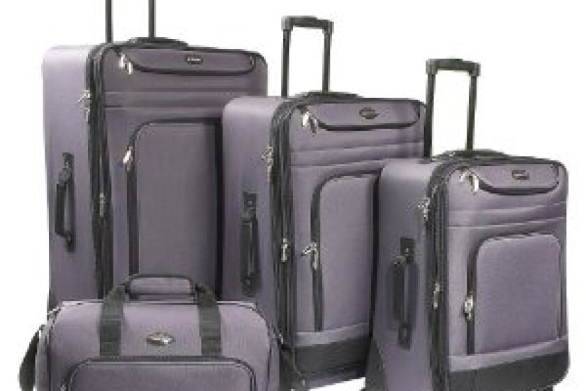 Travel Gear Spectrum 4-Piece Spinner Set