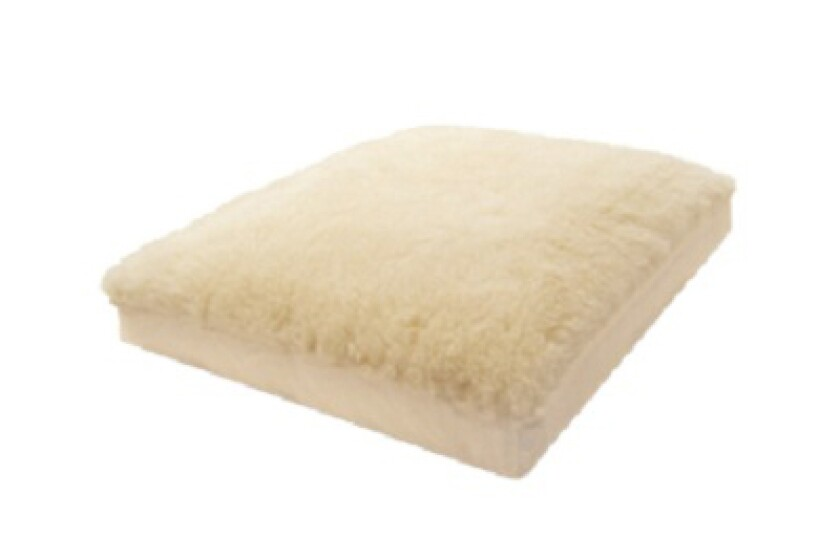 Natura Latex and Wool Pet Bed