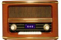 Wolverine RSR100 Retro Table Top Radio