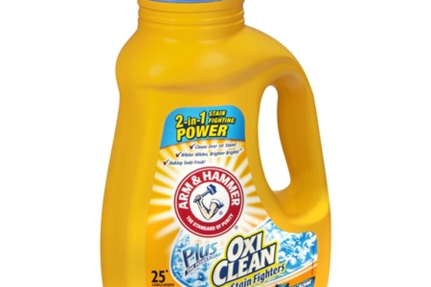 Arm & Hammer Liquid Laundry Concentrate, Plus Oxiclean