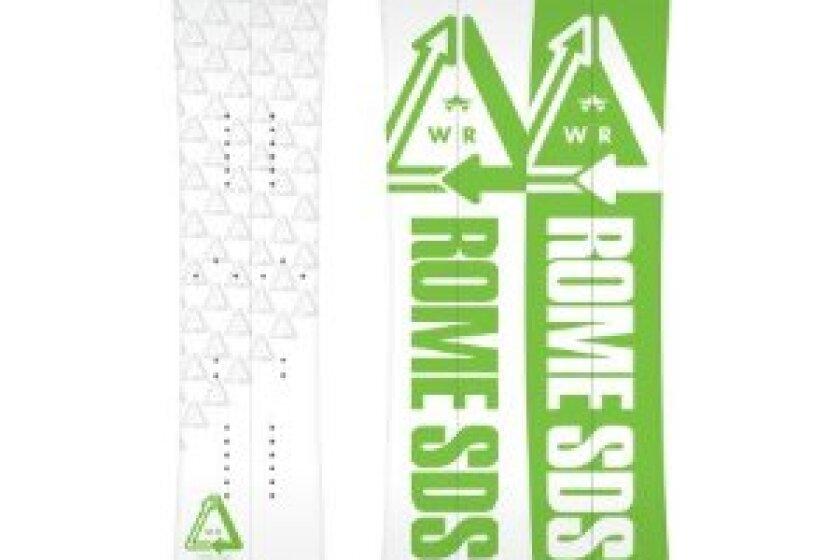 Rome Whiteroom Split Snowboard