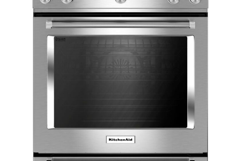 KitchenAid 6.5 Cu. Ft. Slide-In Gas Range - KSGB900ESS