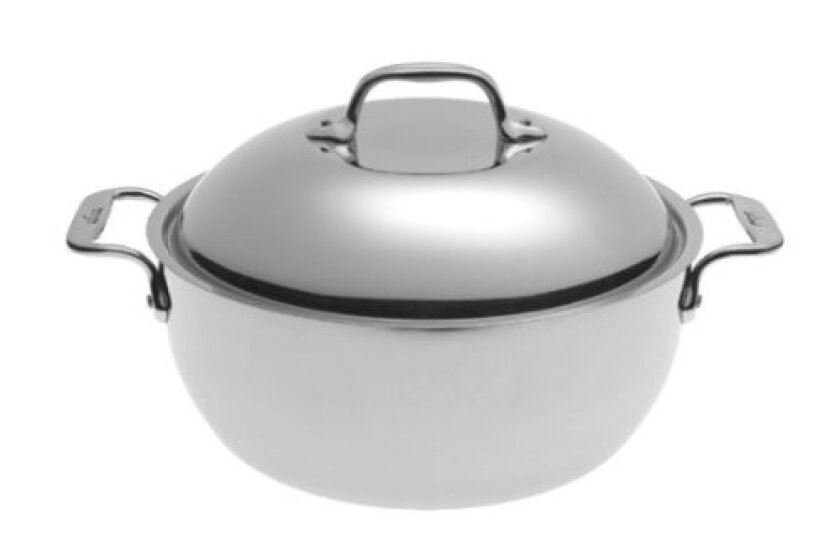 All-Clad Stainless Steel Chef Series Dutch Oven, 5.5 Qt.
