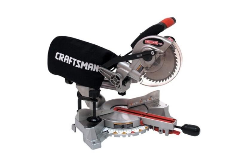 """best Craftsman #932563, 7-1/4"""" Sliding Compound Miter Saw"""