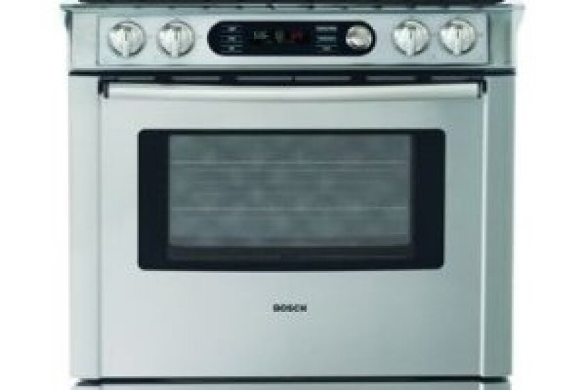 Bosch 4.6 Cu. Ft. Dual-fuel Slide-In Range - HDI7282U
