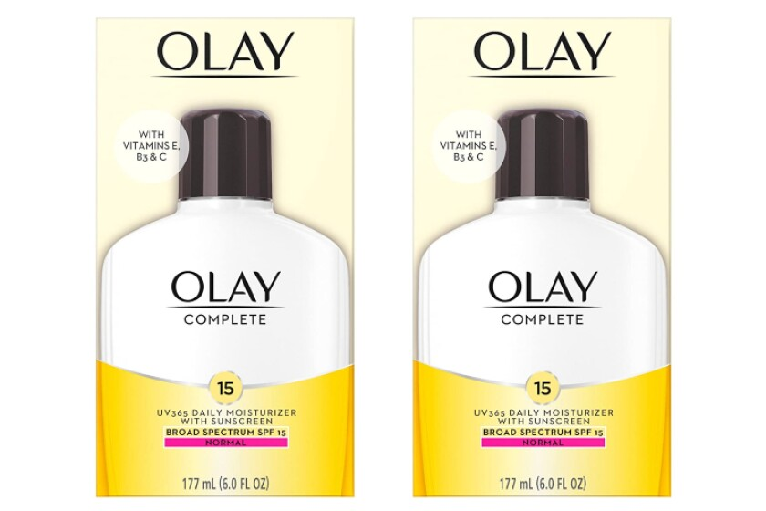 best Olay Complete All Day Moisturizer with Sunscreen SPF 15 Face Lotion
