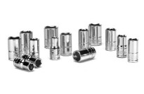 Powerbuilt 640087 1/4-Inch Drive SAE 14 Piece Socket Set